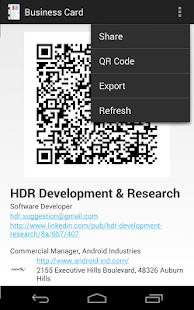 Free business card android apps on google play free business card screenshot thumbnail reheart Images