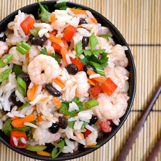 Shrimp & Rice Salad