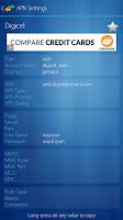 Screenshot of APN Settings