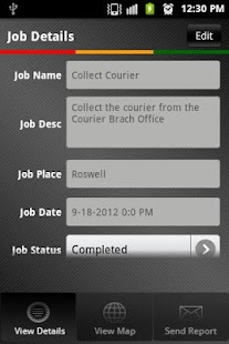 Field Job Reporting- screenshot thumbnail