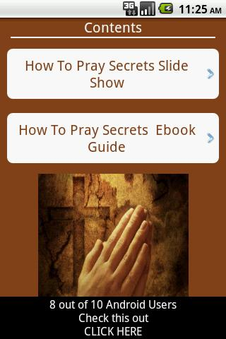 Christian Daily Prayer Guide- screenshot