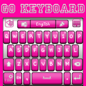 Go Keyboard Pink and White icon