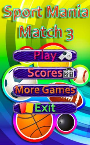 Sport Mania Match 3