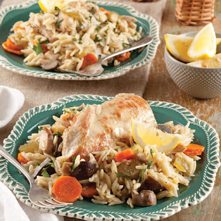 Slow-Cooker Chicken with Orzo