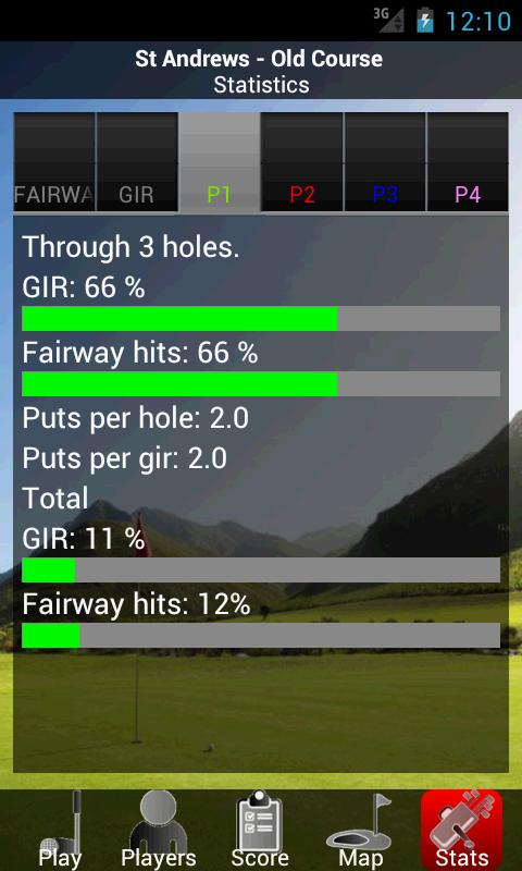GolfCompanion - Golf GPS Demo - screenshot