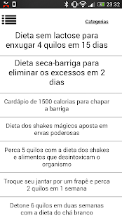 Dietas Mais Populares - screenshot thumbnail