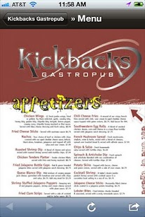 Kickbacks Gastropub- screenshot thumbnail