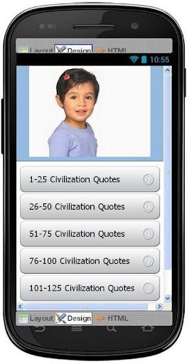 Best Civilization Quotes