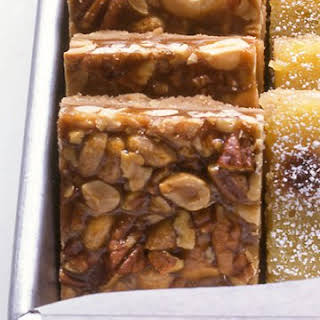 Caramel-Nut Bars.