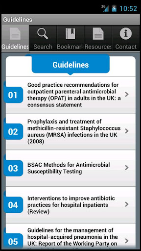 BSAC Guidelines