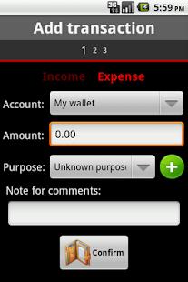 Mini Wallet- screenshot thumbnail