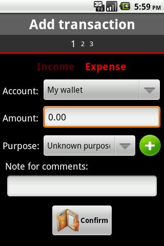 Mini Wallet- screenshot
