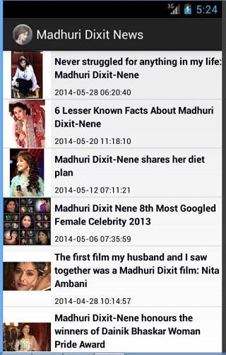 Madhuri Dixit Updates