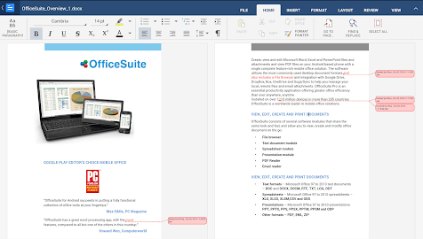 OfficeSuite 8 Pro (Trial) Screenshot 1