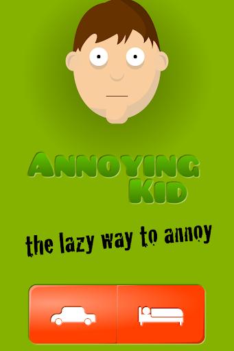 Annoying Kid