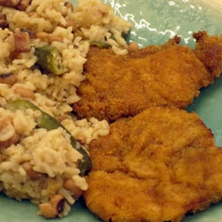 Lone star chicken with Guyanese-style rice