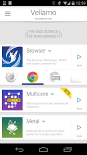 Vellamo Mobile Benchmark