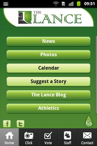 The Lance (New Milford High) - screenshot