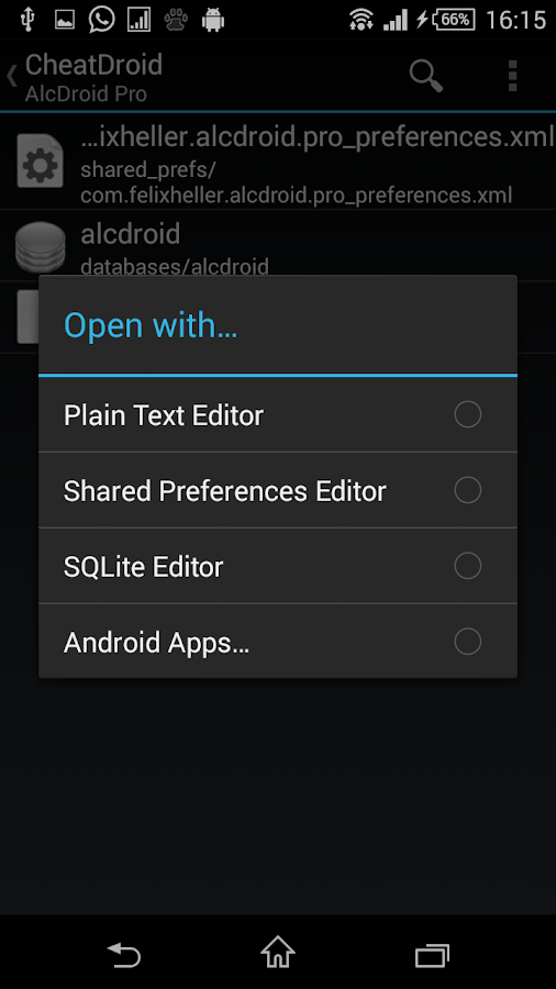 Cheat Droid ★ root only - screenshot