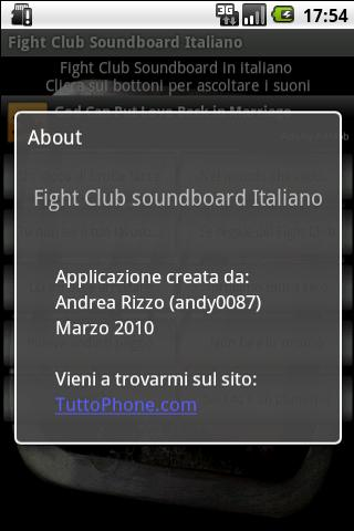 Fight Club Soundboard IT- screenshot