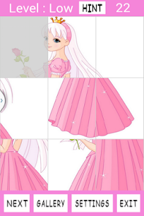 Princess Girls Jigsaw Puzzles - screenshot thumbnail