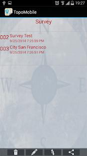 Topography APP Pro screenshot