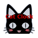 Cat Clock & Weather Forecast icon