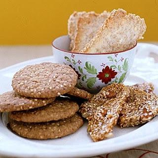 Sesame Seed Cookies.