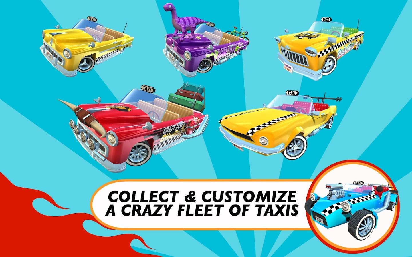 Crazy Taxi� City Rush - screenshot