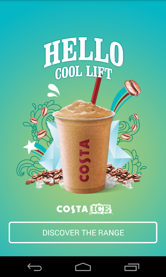 Costa Coffee Club- screenshot