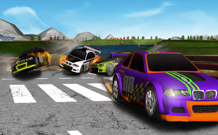 3D Racing Car Game- screenshot
