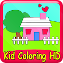 Kid Coloring HD (ads free) logo