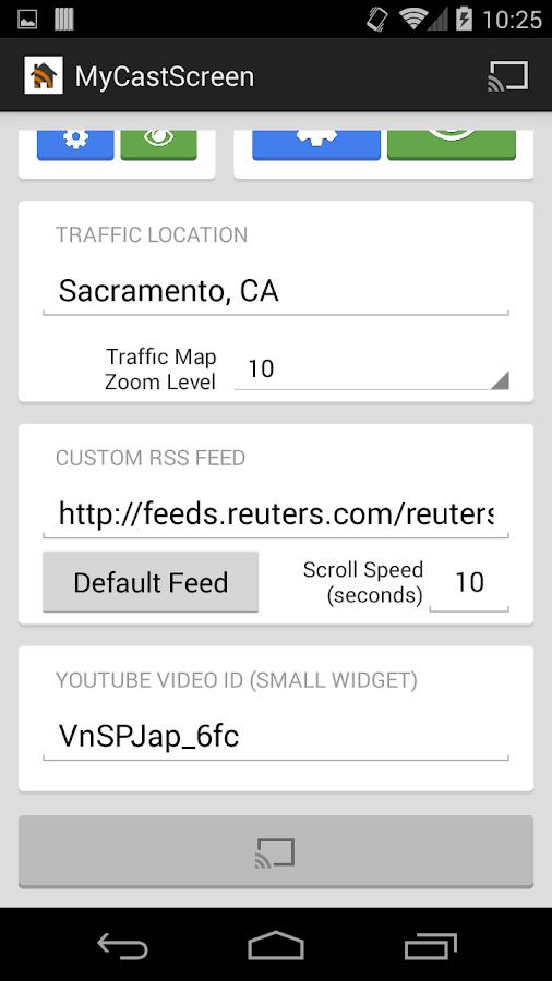 MyCastScreen - screenshot