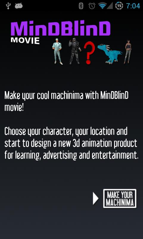 MinDBlinD machinima - screenshot