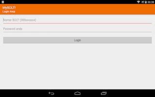 Screenshot of MyBOLT!