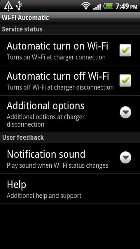 WiFi Automatic - screenshot