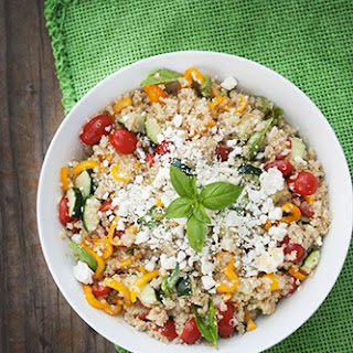 Greek Salad With Quinoa