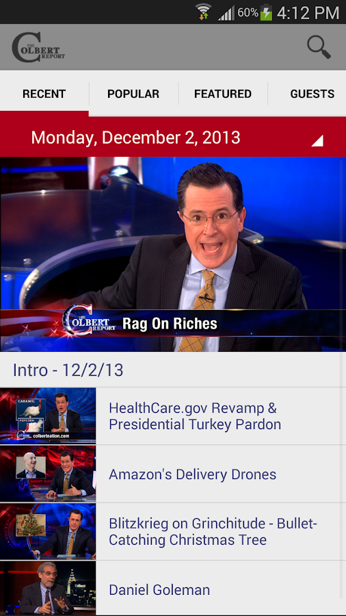 The Colbert Report - screenshot