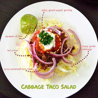 Cabbage Taco Salad