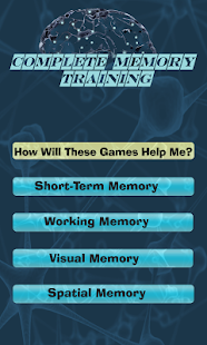 Complete Memory Training Game - screenshot thumbnail