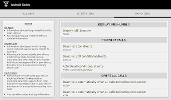 Screenshot of SECRET CODES && HASH CODES