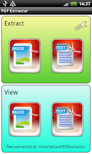 PDF Image Text Extractor