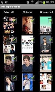 One Direction live wallpaper - screenshot thumbnail