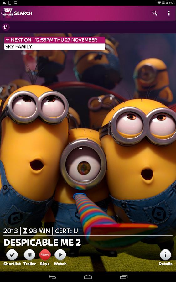 Sky Movies - screenshot