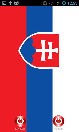 Lantern flash screen Slovakia