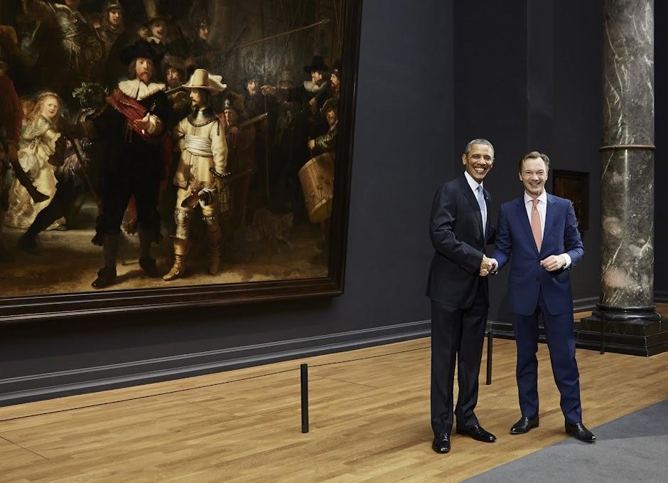 Bekende Citaten Obama : President obama bezoekt het rijksmuseum nieuws nu in
