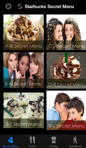 Secret Menu-Starbucks Edition