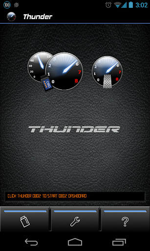 Thunder Demo OBD2 Sound