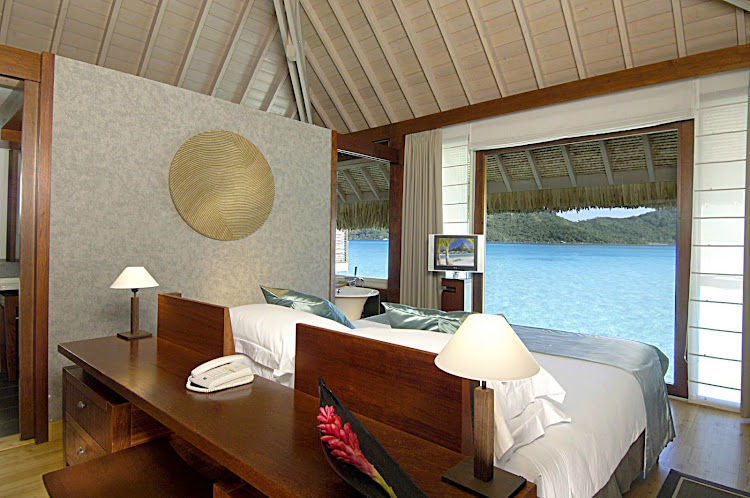 For a cruise vacation to remember, the Paul Gauguin sets you down for a stay at the InterContinental Bora Bora Resort & Thalasso Spa.