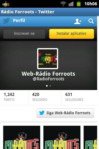【免費音樂App】Rádio Forroots-APP點子